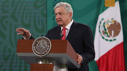 Mexican President López Obrador Tests Positive For COVID-19