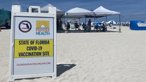 Miami Tries To Make Vaccinations Easy: 'Wherever People Are That's Where We Will Be'