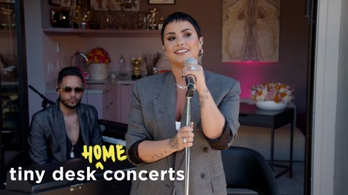Demi Lovato: Tiny Desk (Home) Concert