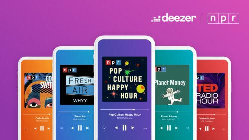 Deezer Goes Global With NPR Shows And Podcasts