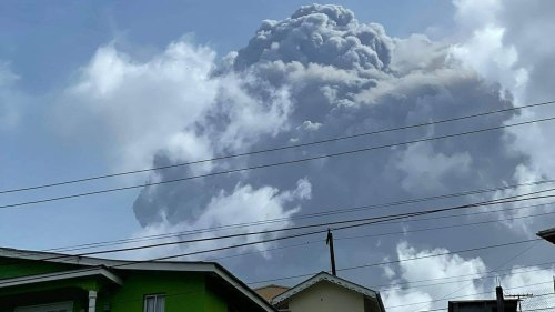 Volcano On St. Vincent Could Experience Larger Eruption