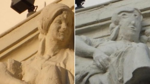 Behold The 'Potato Head' Of Palencia, Another Botched Art Restoration In Spain