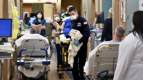 ERs are now swamped with seriously ill patients — but most don't even have COVID
