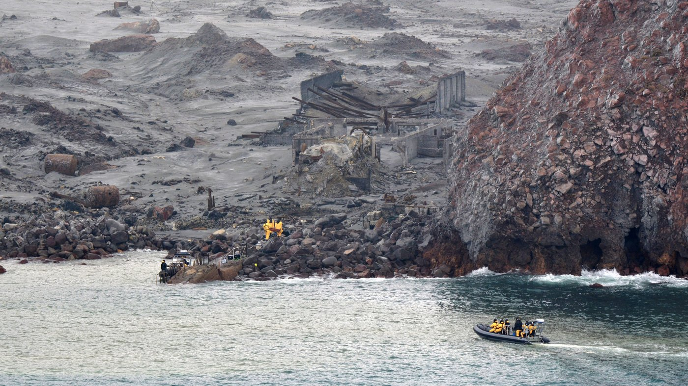 New Zealand Charges 13 Parties Over Deaths At White Island Volcano