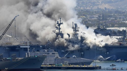 The Navy Accuses A Sailor Of Starting One Of Its Worst Ship Fires Outside Of Combat