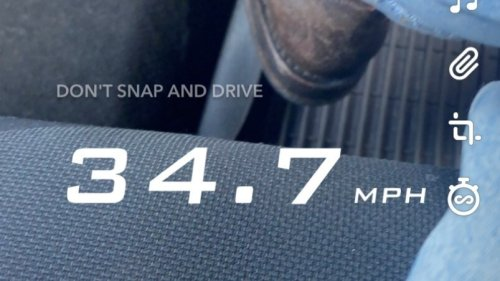 Snapchat Ends 'Speed Filter' That Critics Say Encouraged Reckless Driving