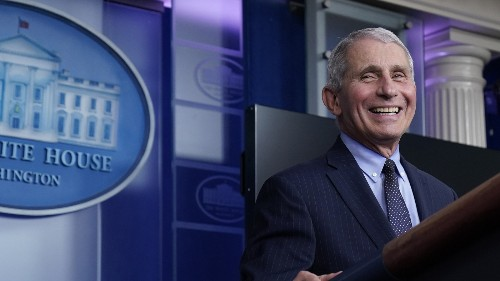 Fauci Relishes A 'Hallelujah' Moment