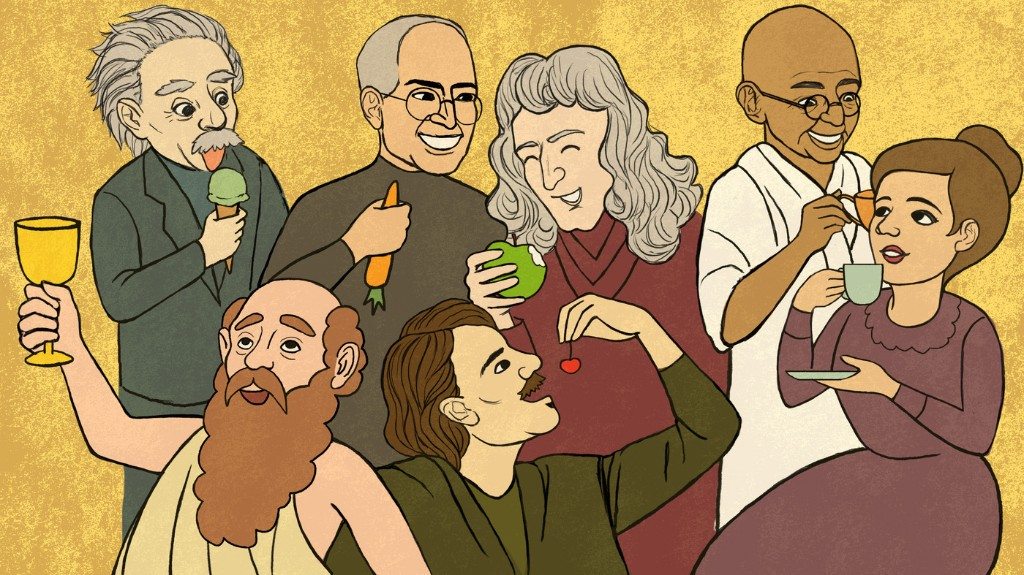 Gastronomy Of Genius: History's Great Minds And The Foods That Fueled Them