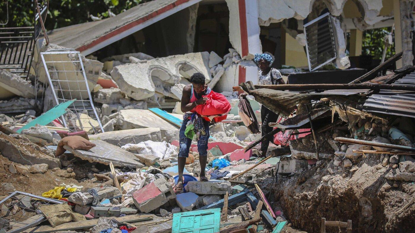 Tropical Storm Approaches Quake-Ravaged Haiti - cover