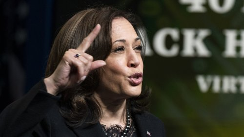 At Black History Event, Harris Champions COVID-19 Bill For Its Aid To Black Americans