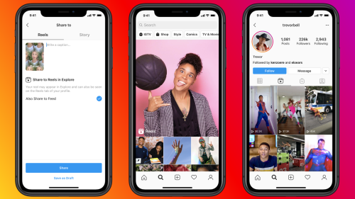 Facebook Launches Instagram Reels, Hoping To Lure TikTok Users