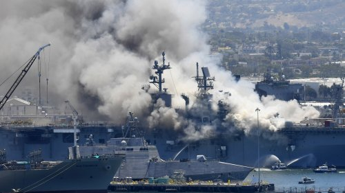 The Navy finds major failures starting with top officers in a devastating ship fire