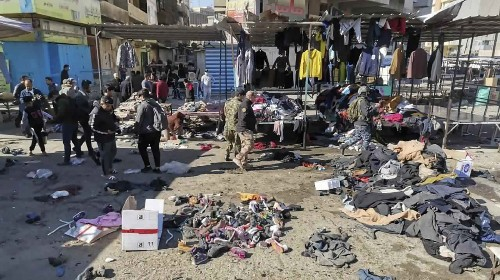 Twin Suicide Bombings In Baghdad Market Kill And Wound Dozens