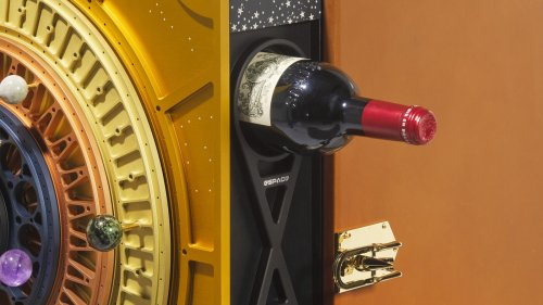 A Fancy Bottle Of Wine That Went To Space Can Be Yours For Perhaps A Million Dollars