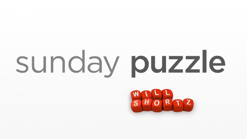 Sunday Puzzle: Switch The Vowel