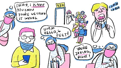 Coronavirus FAQ: Do Airplane Passengers Not Know There's A Pandemic Going On?