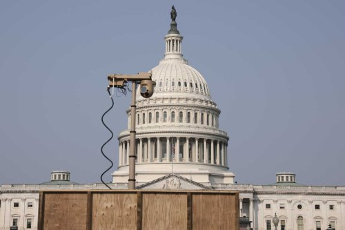 U.S. Capitol Puts Up Perimeter Fencing Ahead of Right-Wing Rally