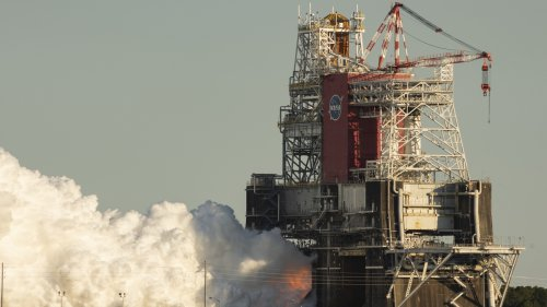 NASA's 8-Minute Rocket Test Shuts Down After 67 Seconds