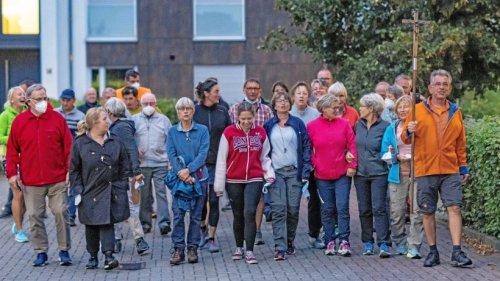Dinslakens Pilger nach 90 Kilometern zu Fuß gesund zurück