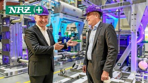 Wie Siemens Energy in Mülheim bei Minister Pinkwart punktet