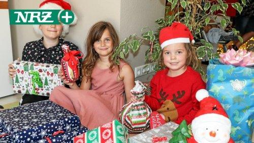 Dinslakener Familie holte Weihnachtsfest nach - bei 34 Grad