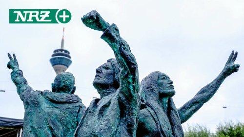 Skulptur für sexuelle Vielfalt in Düsseldorf enthüllt