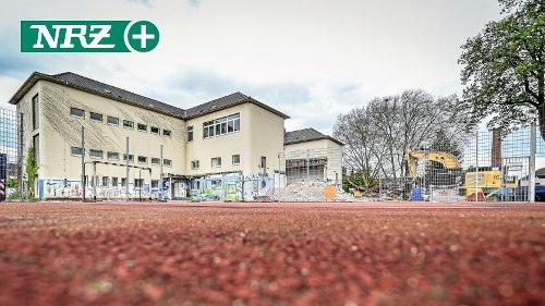 Schadstoff: Schulabriss in Essen-Kettwig mit Bewetterung
