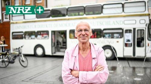 Dinslaken: Omnibus für direkte Demokratie steht am Neutor