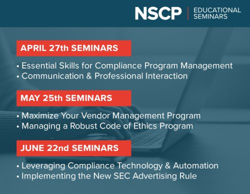 NSCP Events You Don't Want to Miss!