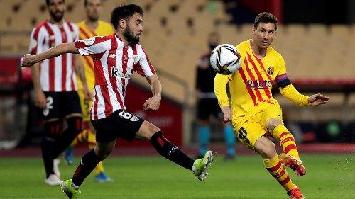 Griezmann zet Koemans Barcelona op 0-1 in bekerfinale