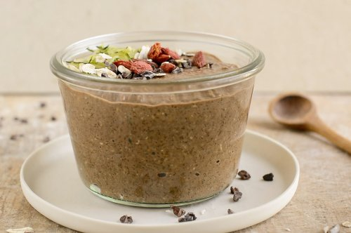 How to Make Low-Glycemic Chocolate Overnight Oats [Video]   Nutriplanet
