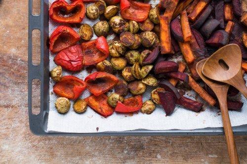 Miso Roasted Vegetables [Oil-Free, Gluten-Free]   Nutriplanet