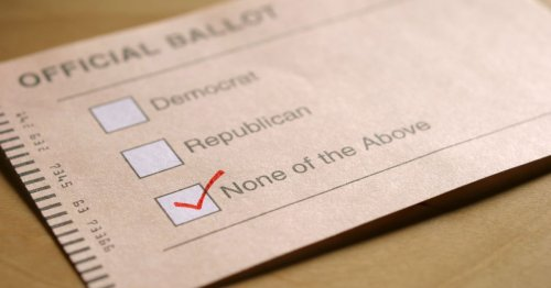 Independents Aren't Non-Partisan, They're Just Disengaged