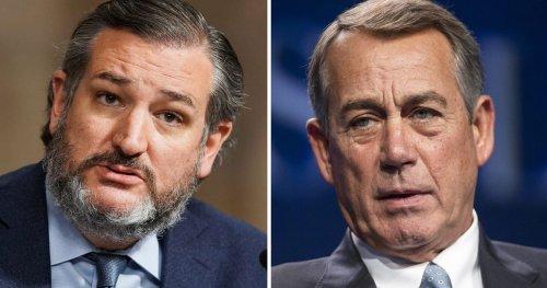Ted Cruz Wants to Cancel John Boehner