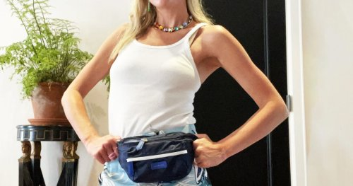 Writer Sarah Hoover Uses This Fanny Pack As a (Minimalist) Diaper Bag