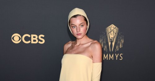 Unpacking Emma Corrin's Emmys Outfit