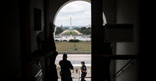 Protest Over Capitol Riot Arrests a Non-Event