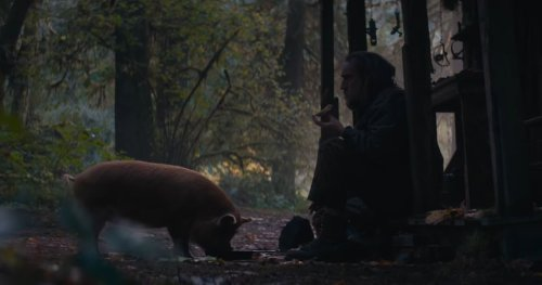 Pig Trailer: Drop the Truffle Fries and Help Nic Cage Find His Friend