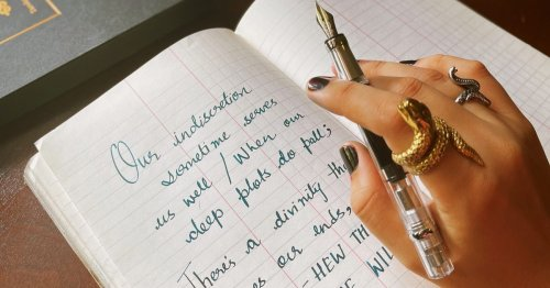 This Fountain Pen Transforms My Chicken Scratch Into Exquisite Script