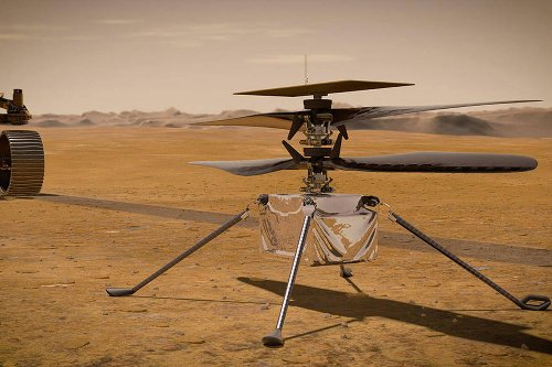Ingenuity Mars helicopter sets stage for space flight on other worlds, NASA says