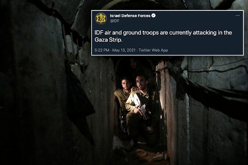 How Israel used a tweet to lure militants to their doom in terror tunnels