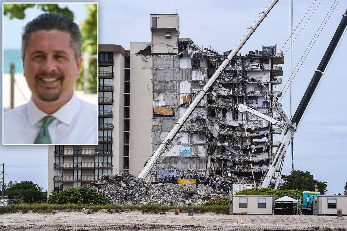 Ex-Florida building official on leave at new job after damning condo report