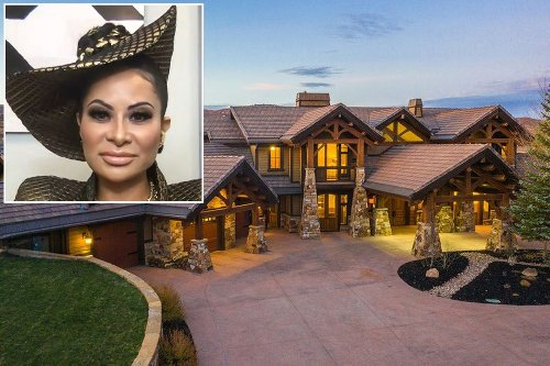Jen Shah's house — the infamous 'Shah Ski Chalet' — is an alleged fraud, too