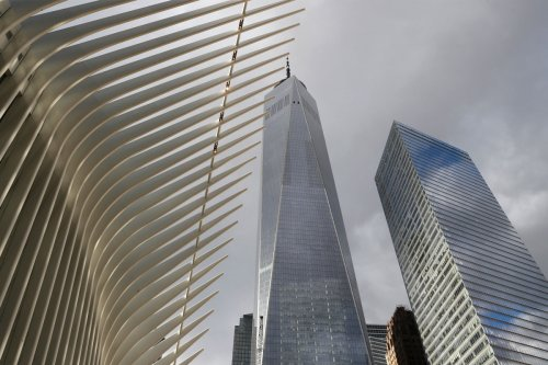 Drone slams into building in World Trade Center complex, pilot in custody