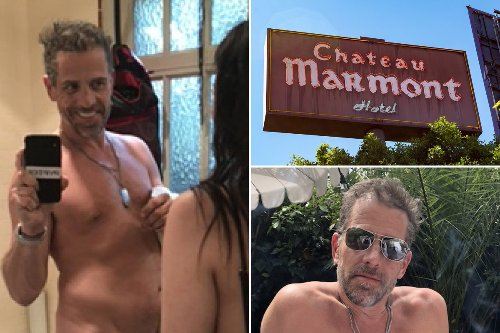 Did Joe inadvertently pay for Hunter Biden's wild night at Chateau Marmont?