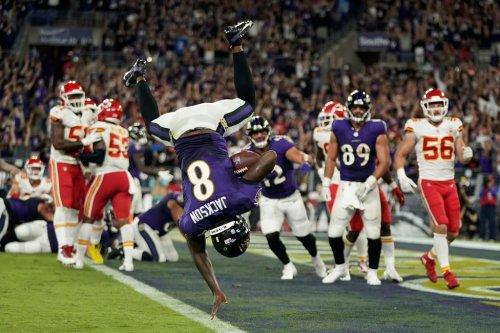 Ravens, Lamar Jackson stun Chiefs in 'Sunday Night Football' thriller