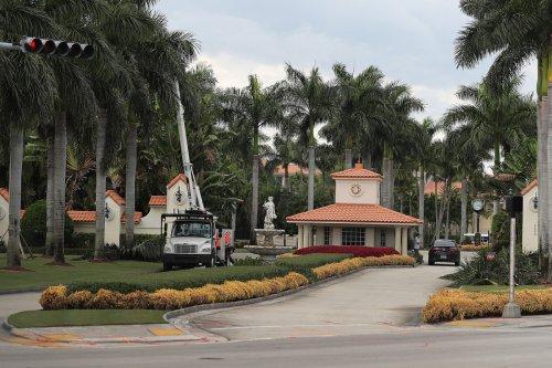 Trump cancels Miami golf resort fundraiser as Tropical Storm Isaias nears Florida
