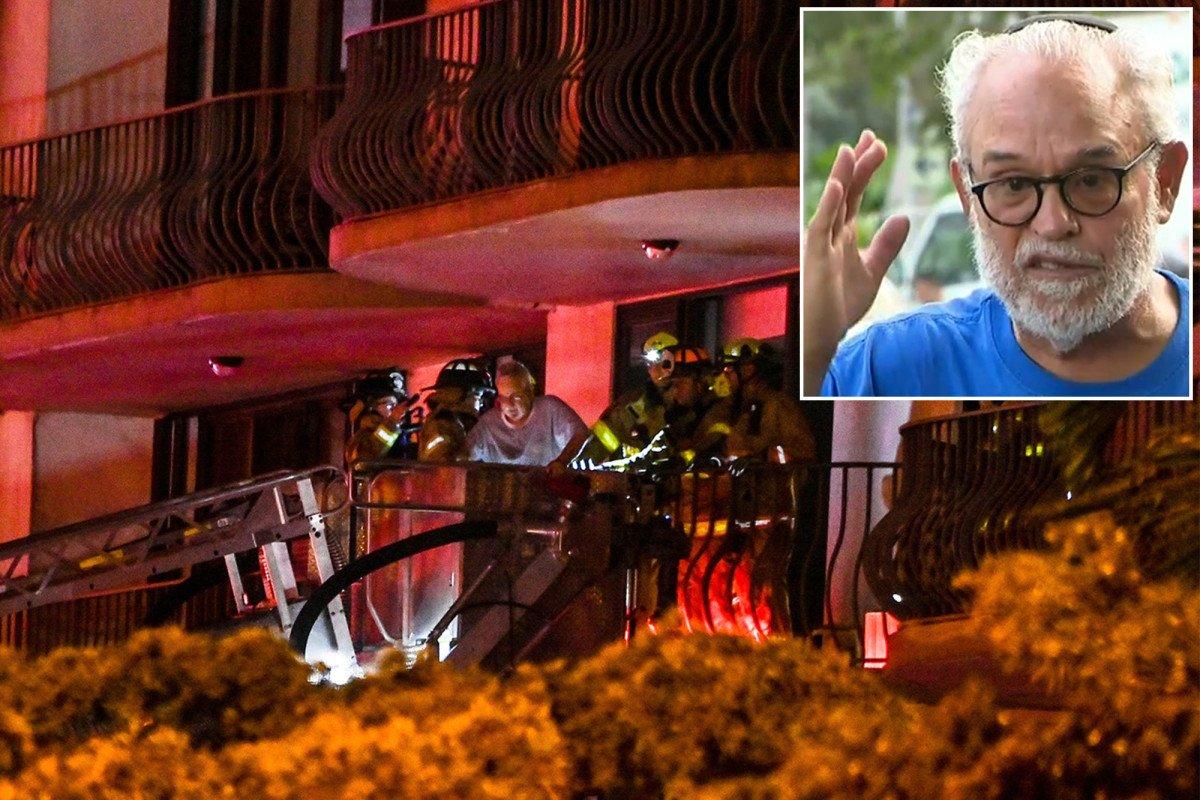 Florida condo collapse survivor 'happy to be alive' after harrowing ordeal