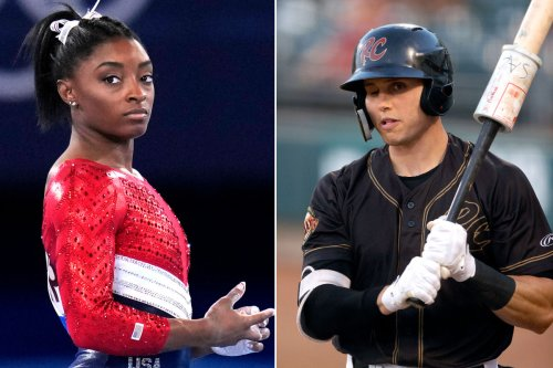 Ex-MLBer who nearly committed suicide admires 'strength' of Simone Biles