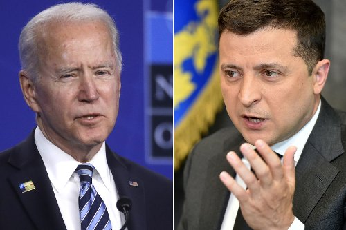Biden denies Ukraine prez's claim that NATO 'confirmed' his country can join
